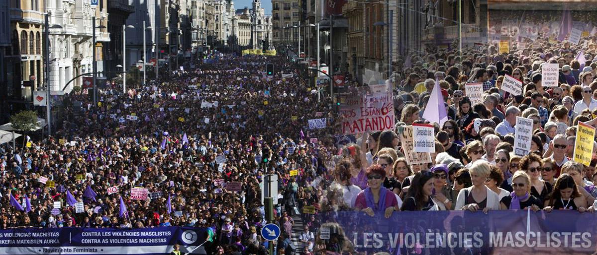 Enlace permanente a:7N Marxa Estatal contra les violències masclistes MADRID