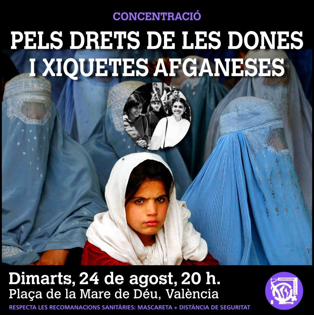 Por los derechos de las mujeres y la niñas de Afganistán